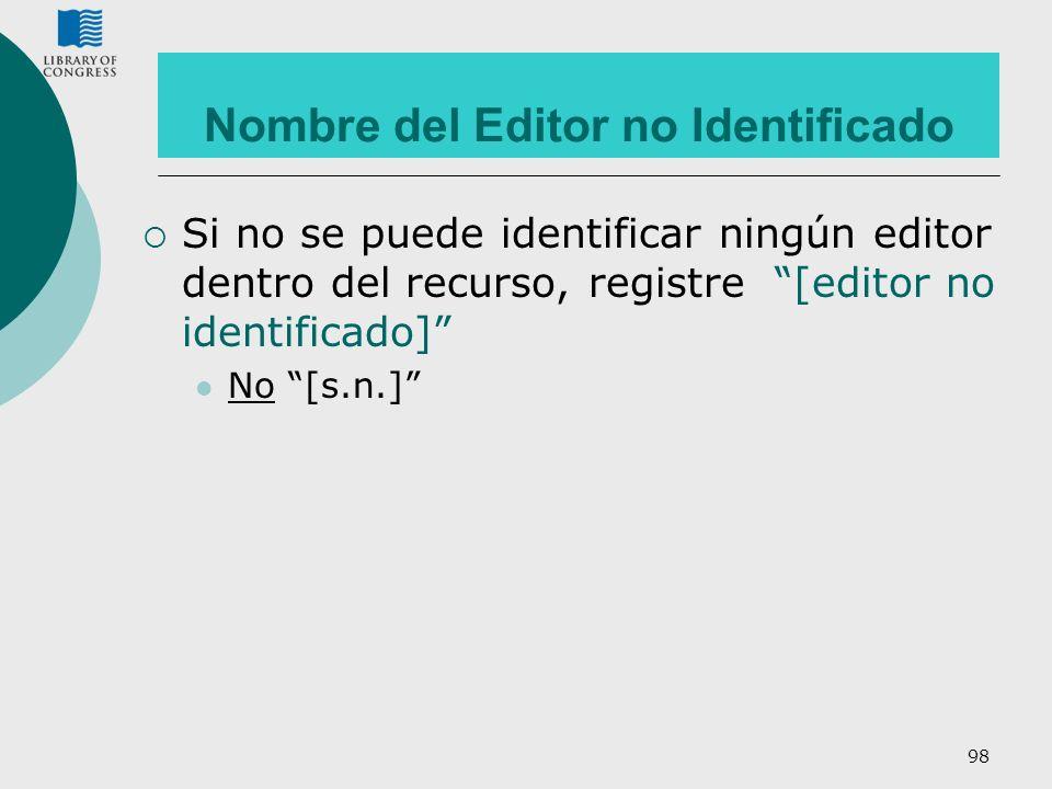 Nombre del Editor no Identificado