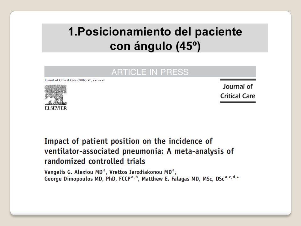 1.Posicionamiento del paciente