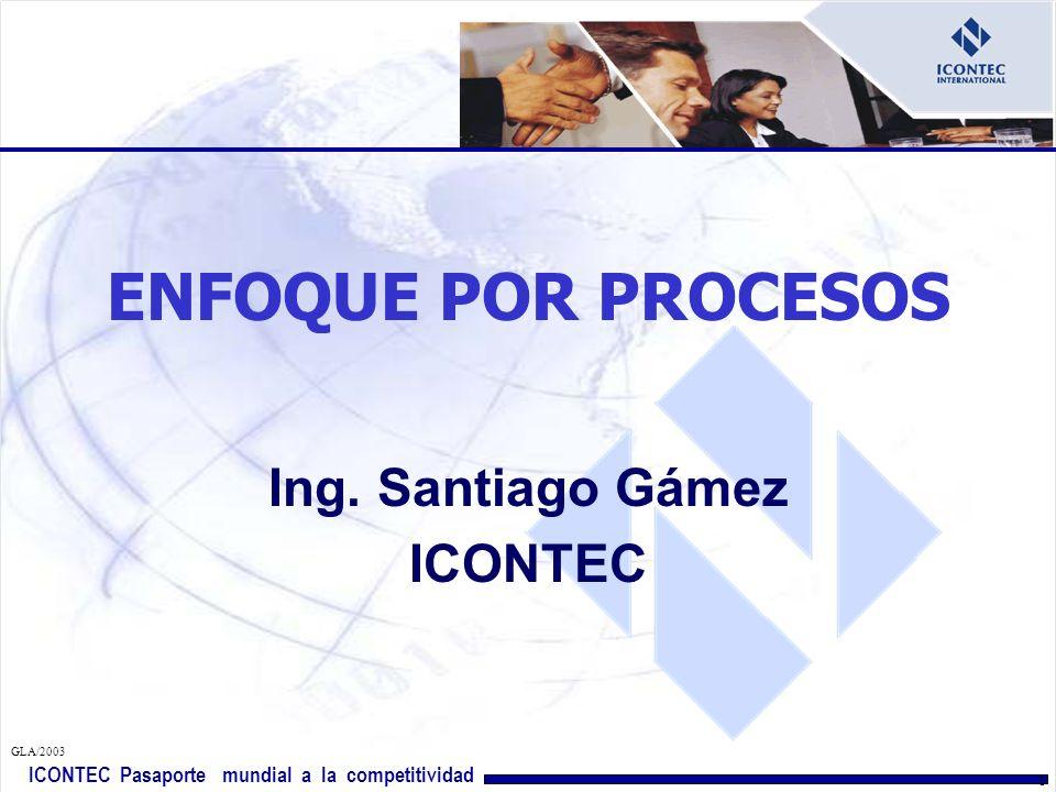 Ing. Santiago Gámez ICONTEC