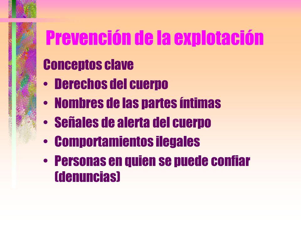 Prevención de la explotación