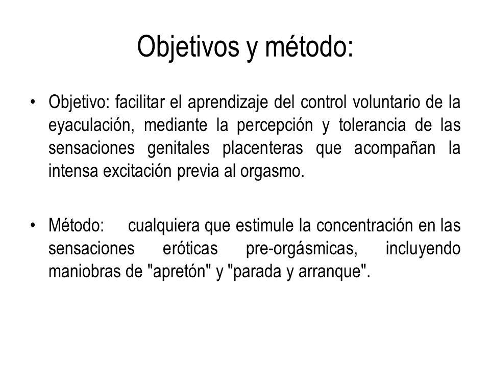 Objetivos y método: