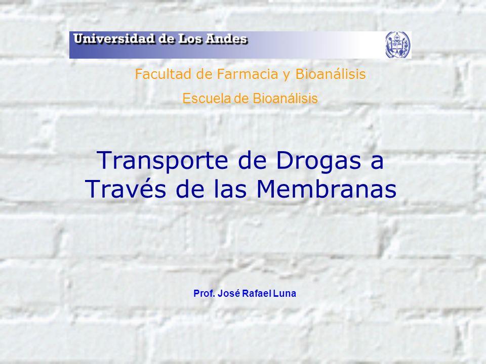 Transporte de Drogas a Través de las Membranas