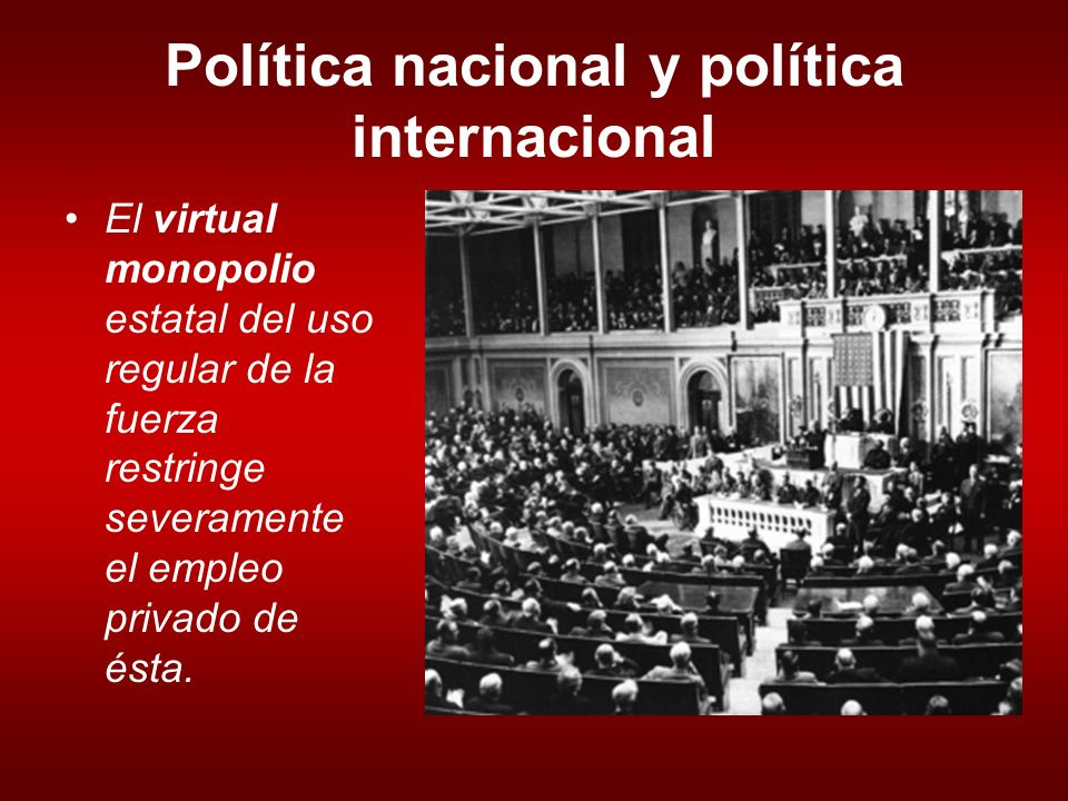 Pol tica internacional introducci n ppt descargar for Politica internacional