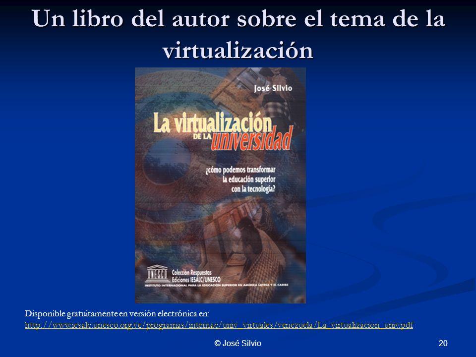 Un libro del autor sobre el tema de la virtualización