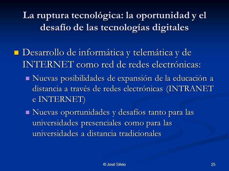 La ruptura tecnológica: la oportunidad y el desafío de las tecnologías digitales