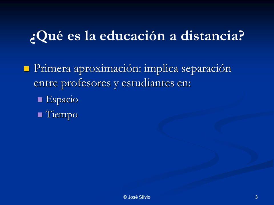 ¿Qué es la educación a distancia