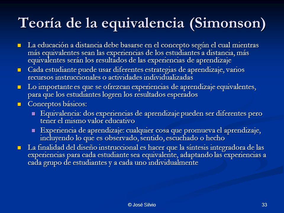 Teoría de la equivalencia (Simonson)