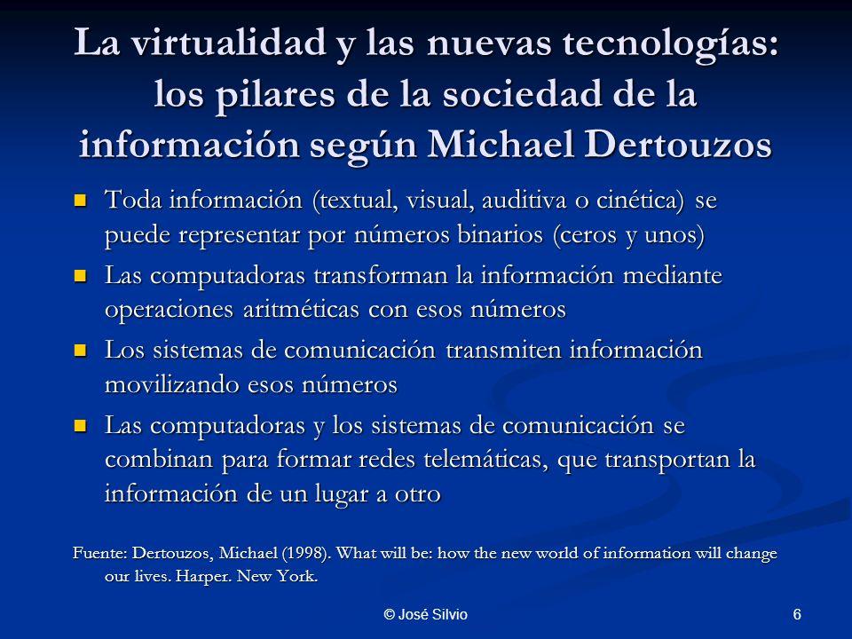 La virtualidad y las nuevas tecnologías: los pilares de la sociedad de la información según Michael Dertouzos