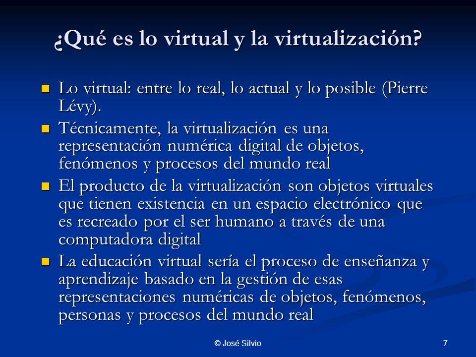 ¿Qué es lo virtual y la virtualización