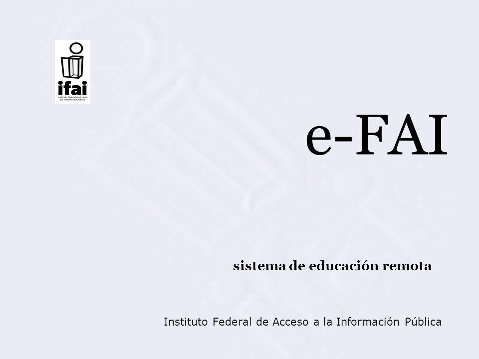 Instituto Federal de Acceso a la Información Pública