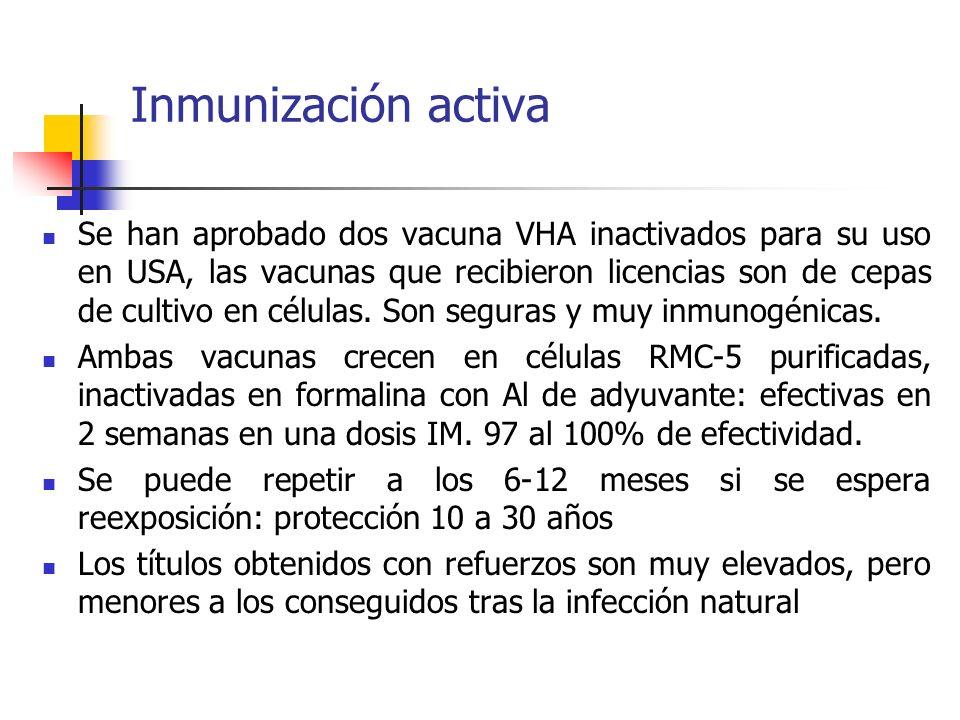Inmunización activa
