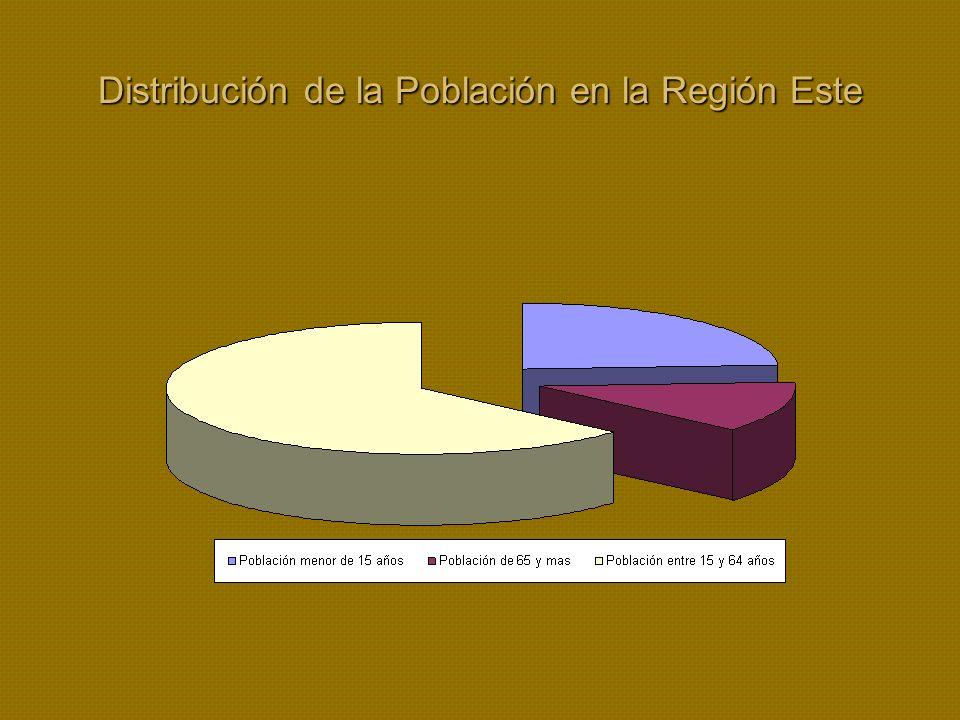 Distribución de la Población en la Región Este