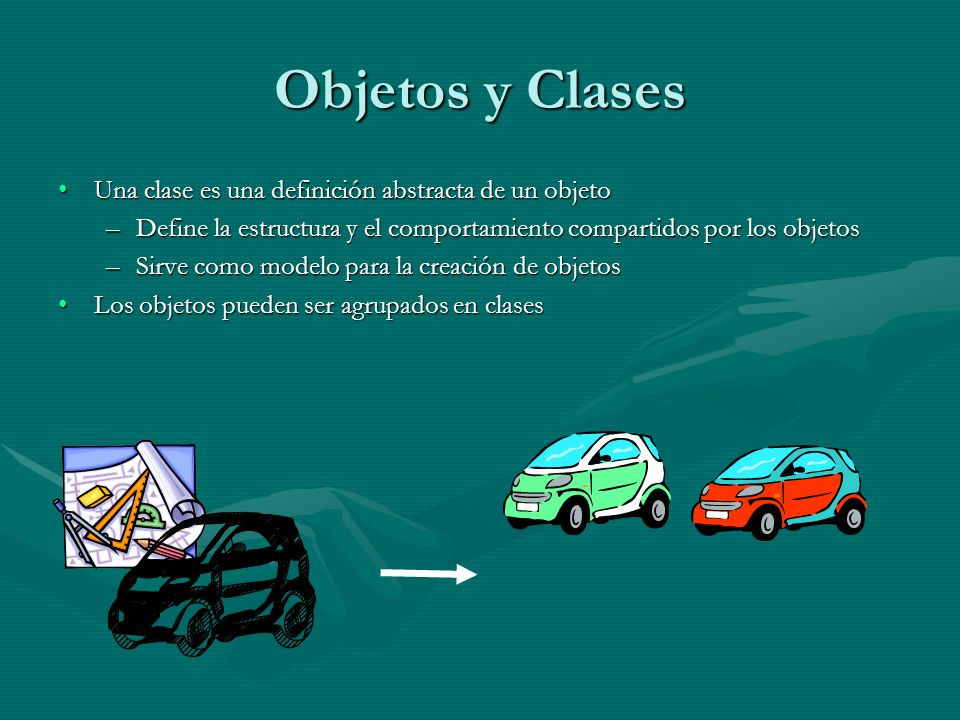 Objetos y Clases Una clase es una definición abstracta de un objeto