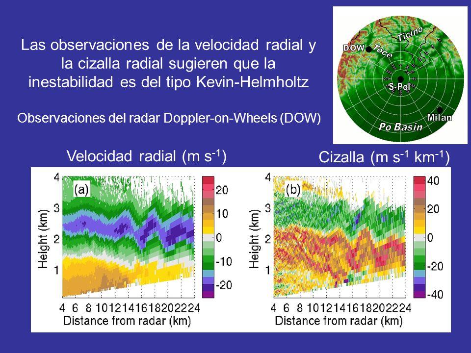 Velocidad radial (m s-1)