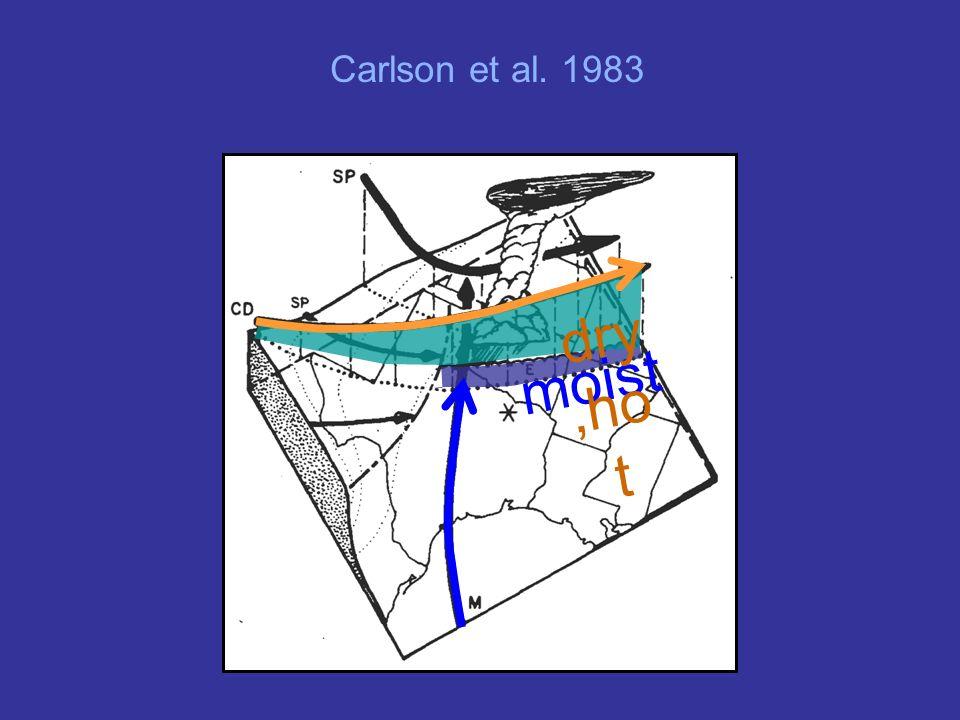 dry,hot moist Carlson et al. 1983