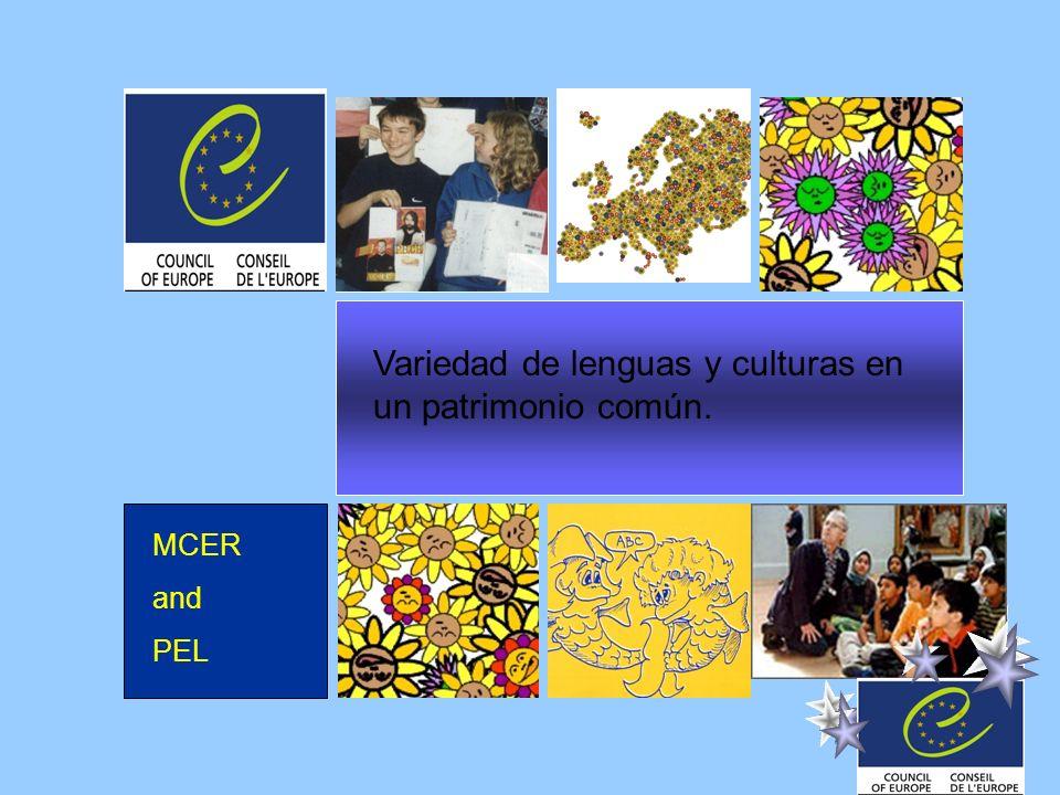 Variedad de lenguas y culturas en un patrimonio común.