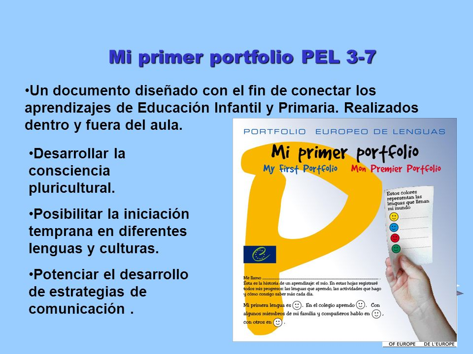 Mi primer portfolio PEL 3-7