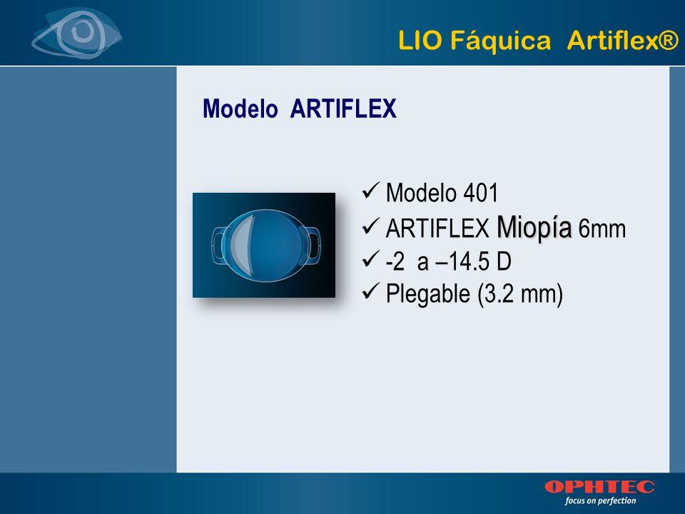 LIO Fáquica Artiflex® Modelo ARTIFLEX. Modelo 401.