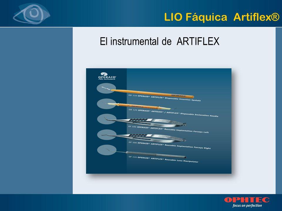 LIO Fáquica Artiflex® El instrumental de ARTIFLEX