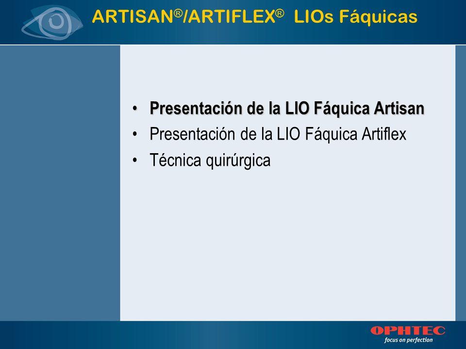 ARTISAN®/ARTIFLEX® LIOs Fáquicas