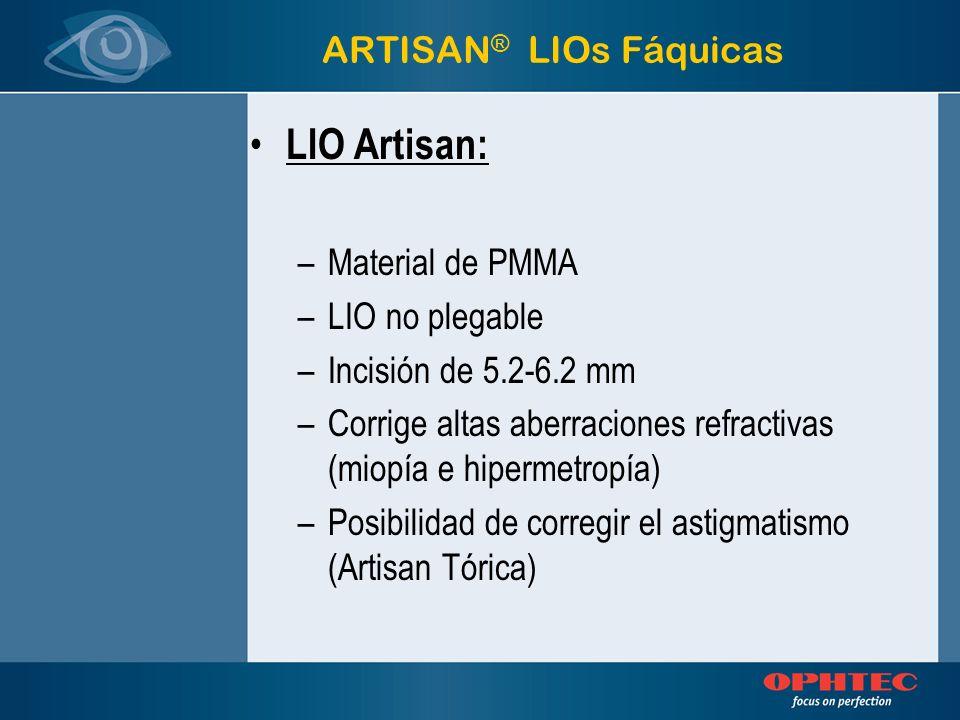 ARTISAN® LIOs Fáquicas