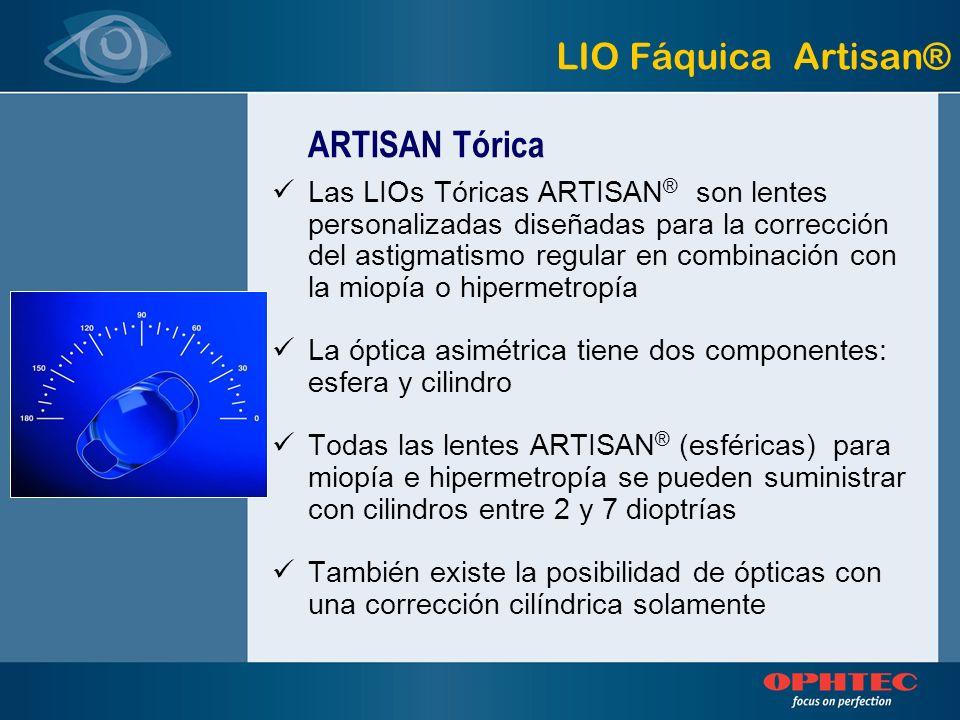 LIO Fáquica Artisan® ARTISAN Tórica