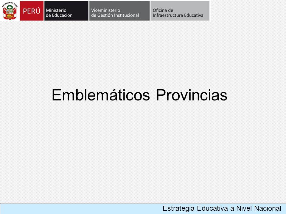 Emblemáticos Provincias