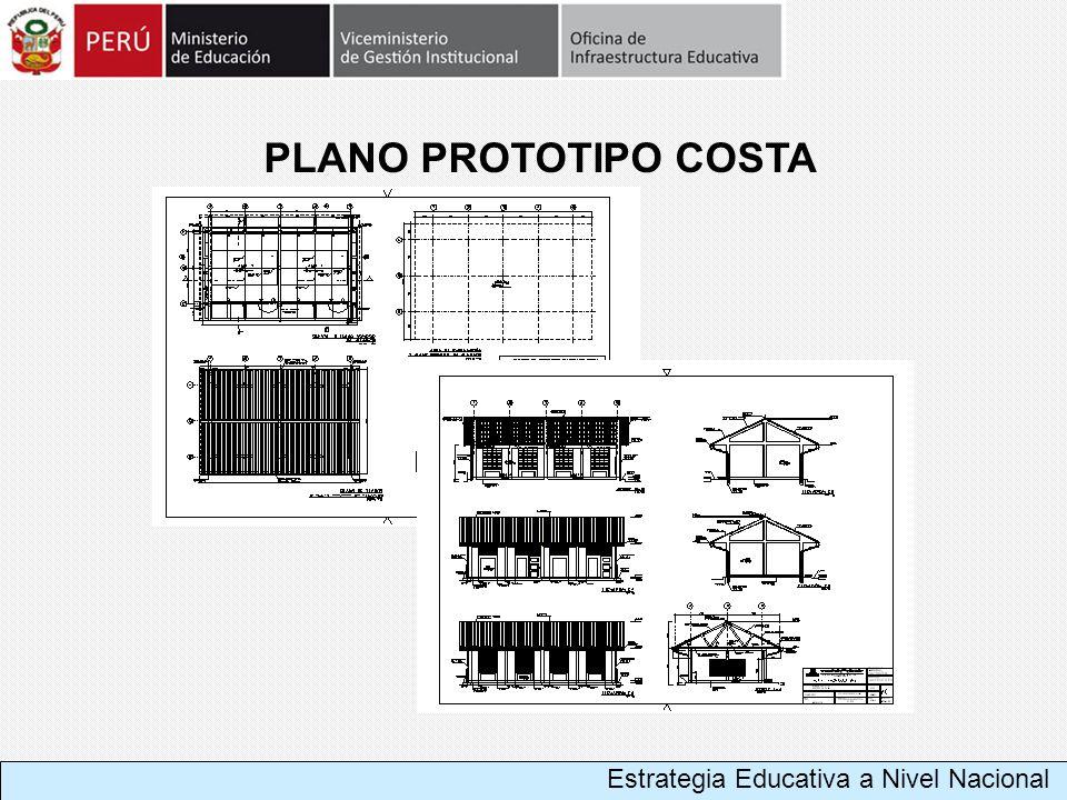 PLANO PROTOTIPO COSTA Estrategia Educativa a Nivel Nacional