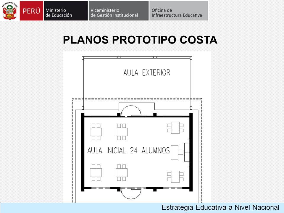 PLANOS PROTOTIPO COSTA