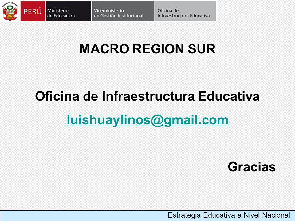 Oficina de Infraestructura Educativa