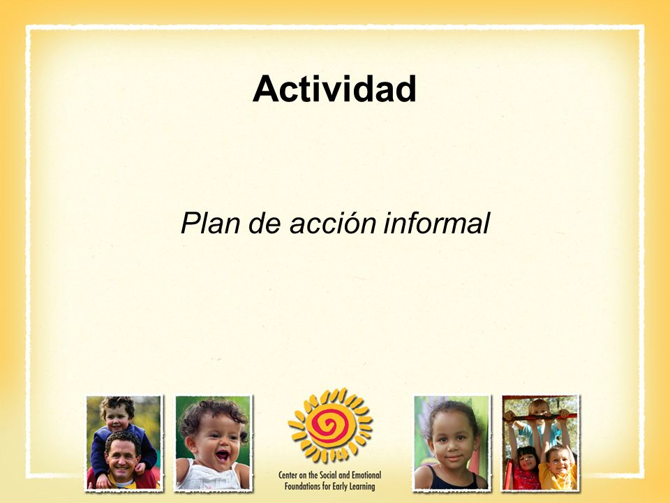 Plan de acción informal