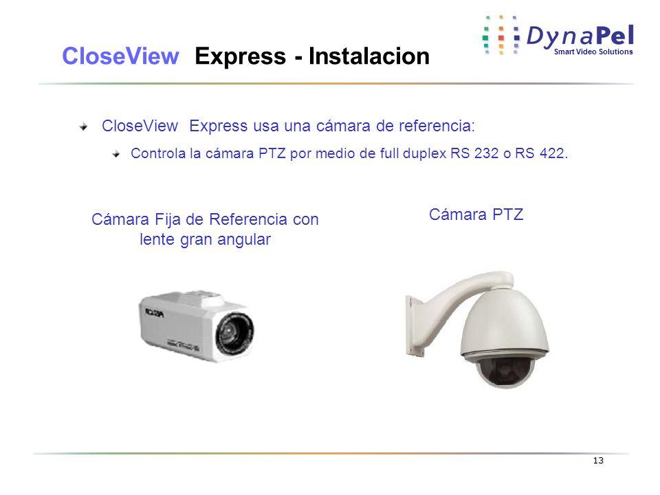 CloseView Express - Instalacion