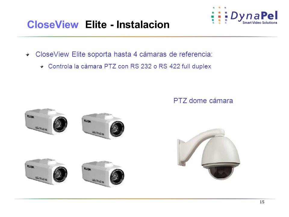 CloseView Elite - Instalacion