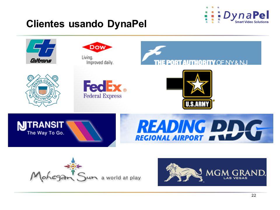 Clientes usando DynaPel