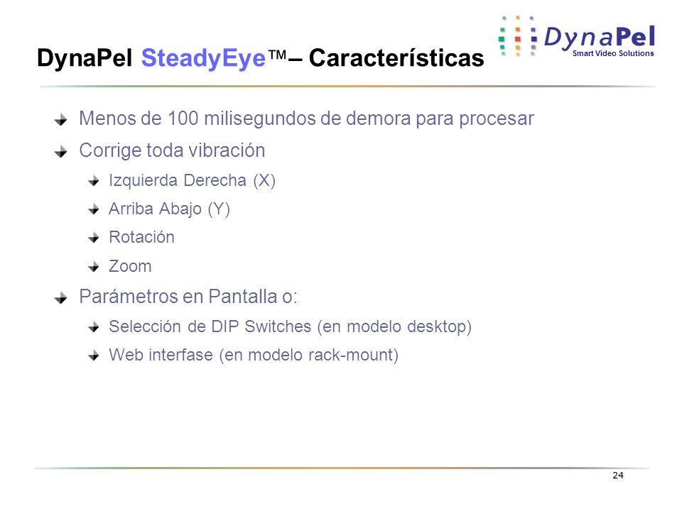 DynaPel SteadyEye™– Características