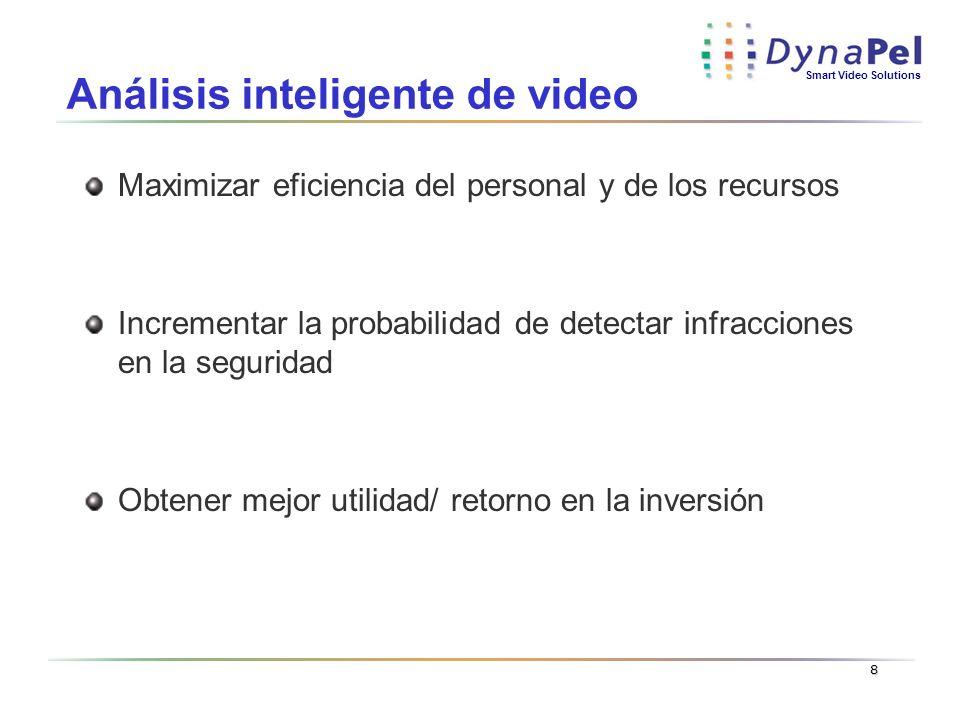 Análisis inteligente de video