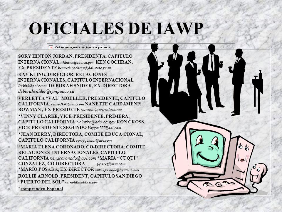 OFICIALES DE IAWP