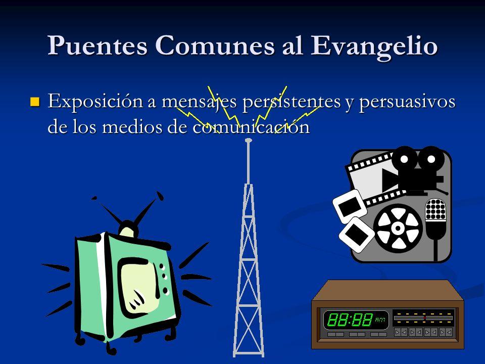 Puentes Comunes al Evangelio
