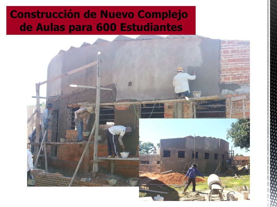 Construcción de Nuevo Complejo de Aulas para 600 Estudiantes