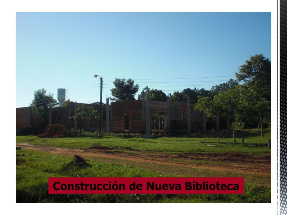 Construcción de Nueva Biblioteca