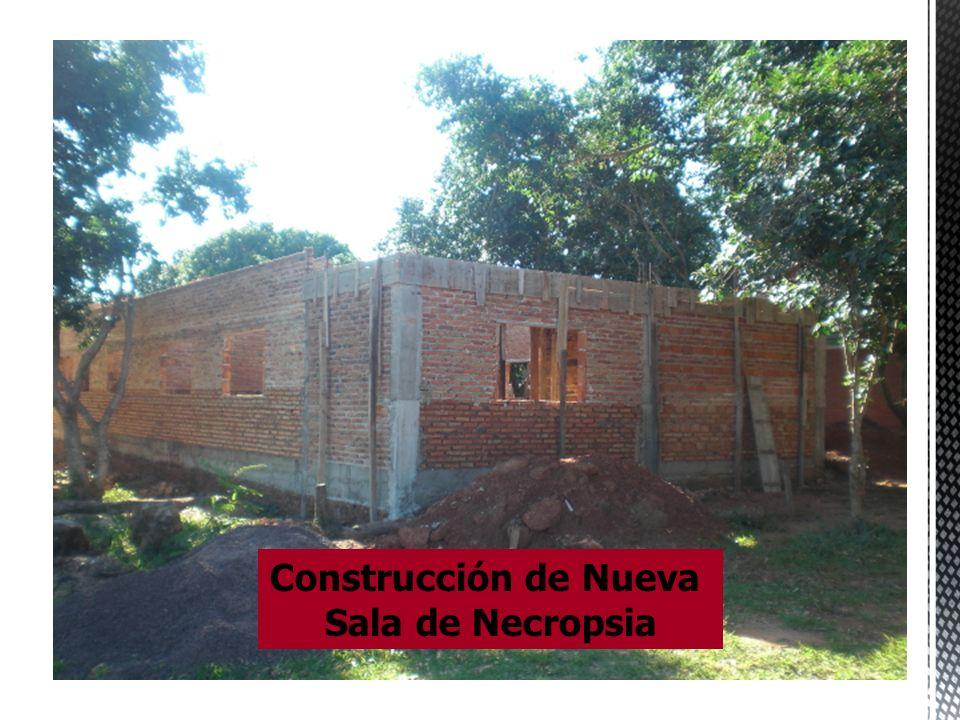Construcción de Nueva Sala de Necropsia