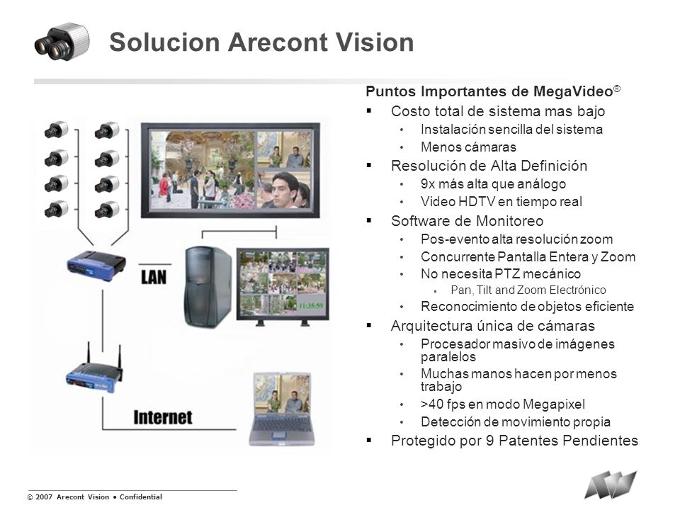 Solucion Arecont Vision