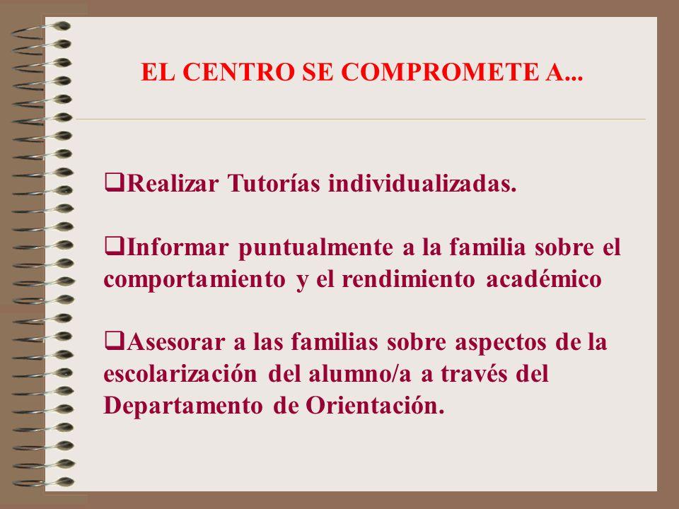 EL CENTRO SE COMPROMETE A...
