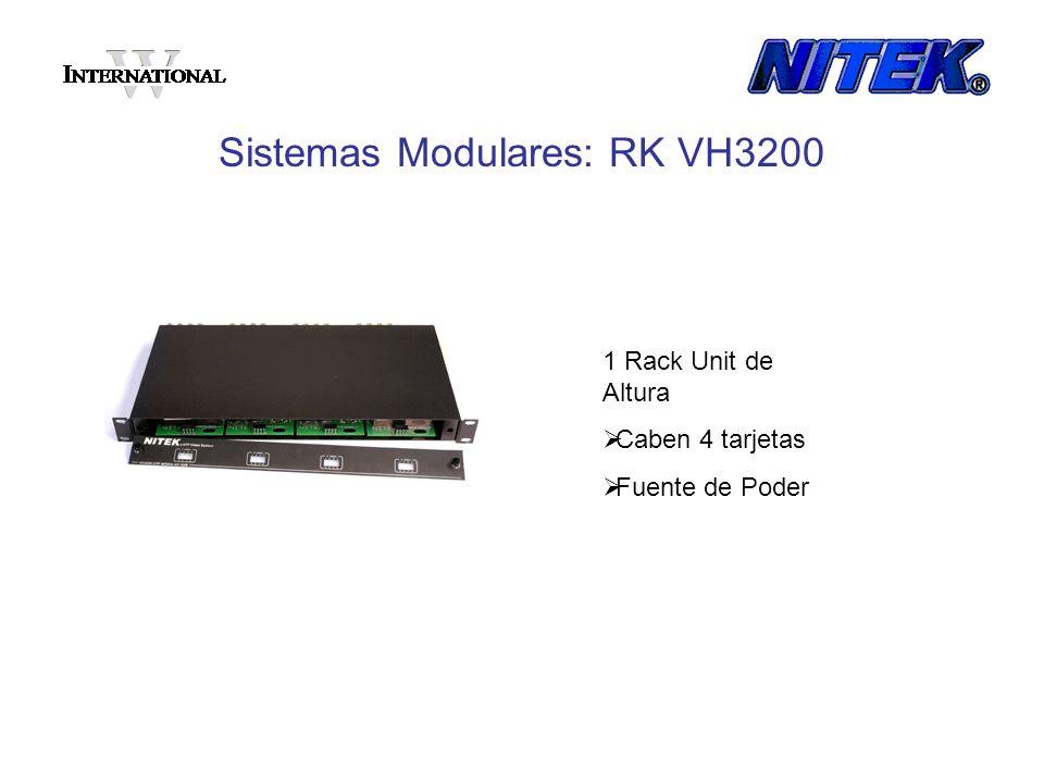 Sistemas Modulares: RK VH3200