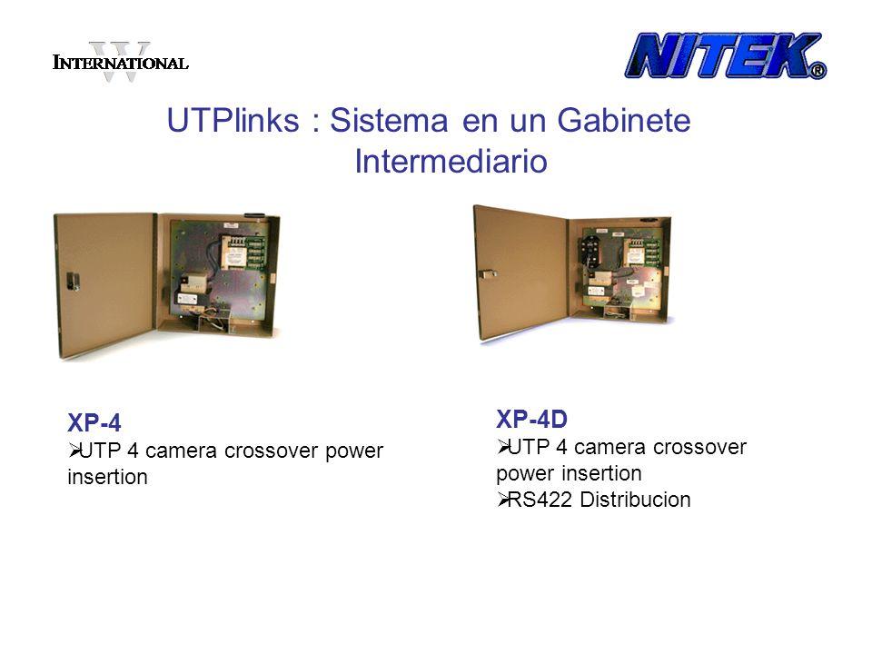UTPlinks : Sistema en un Gabinete Intermediario