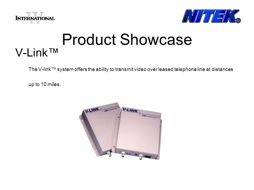 Product Showcase V-Link™