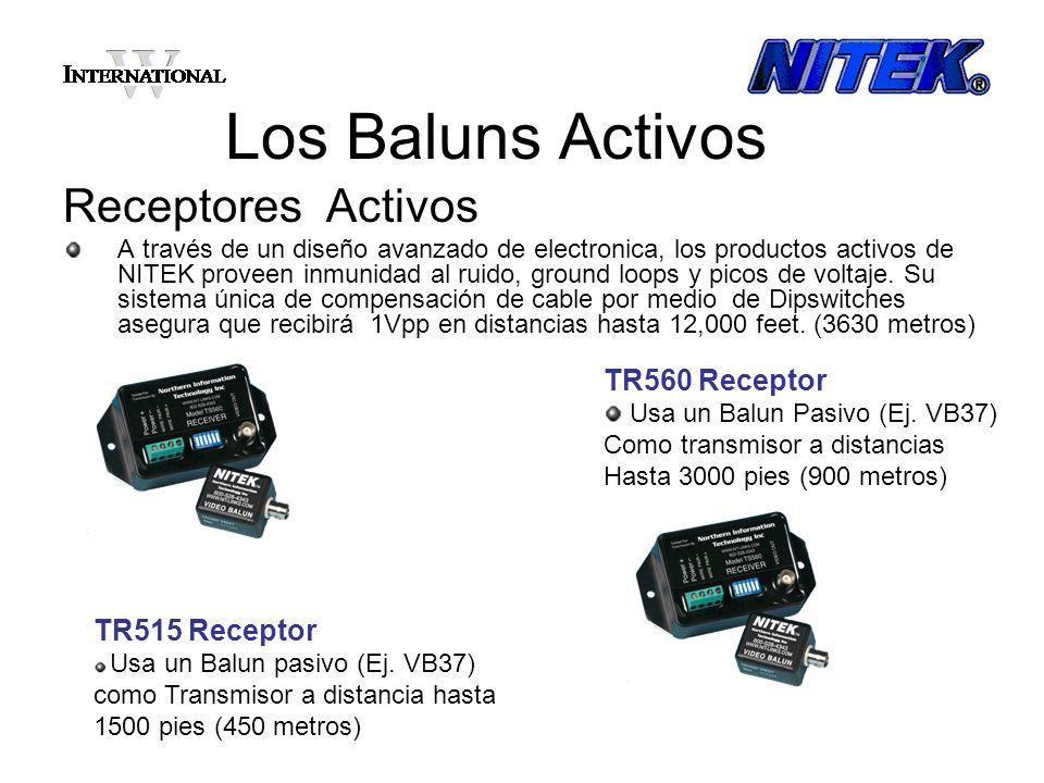 Los Baluns Activos Receptores Activos TR560 Receptor TR515 Receptor