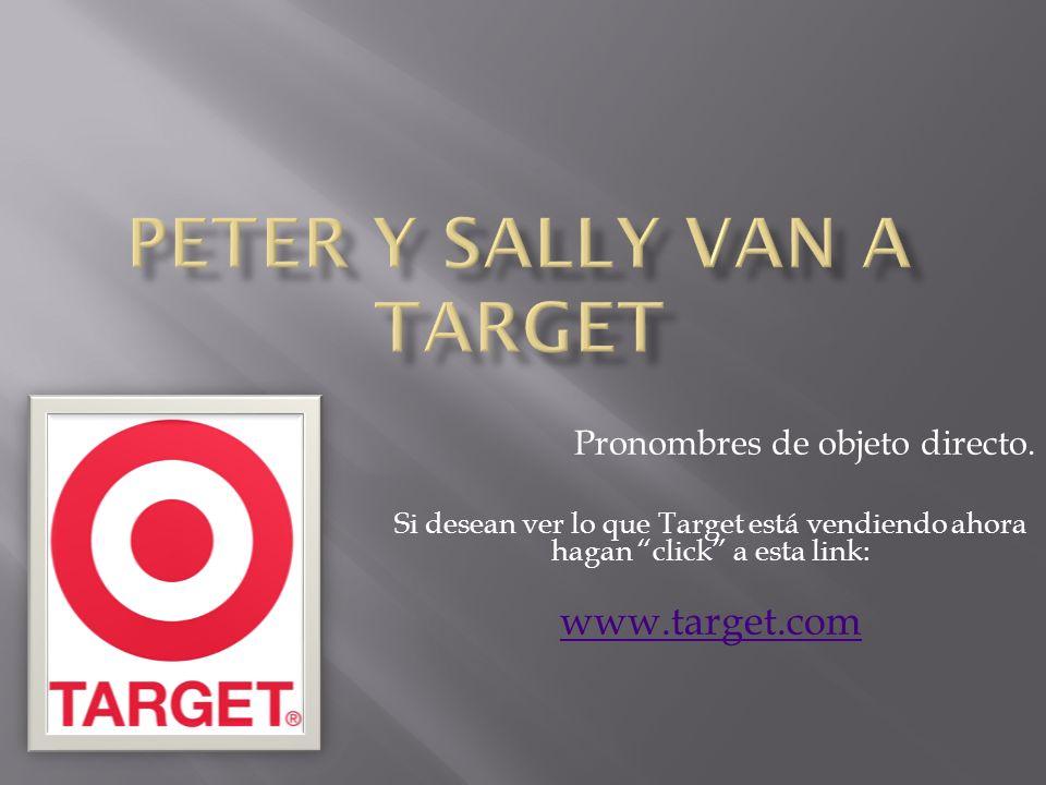 Peter y Sally Van a Target