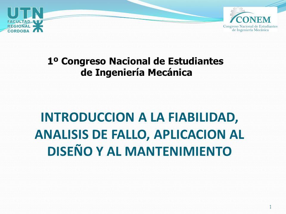 1º Congreso Nacional de Estudiantes de Ingeniería Mecánica