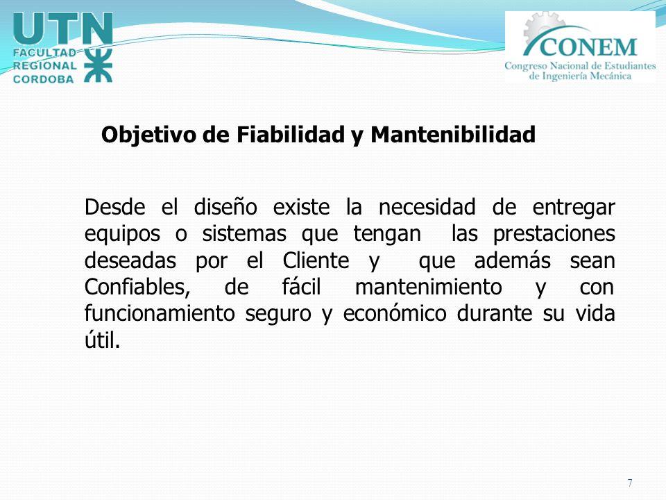 Objetivo de Fiabilidad y Mantenibilidad